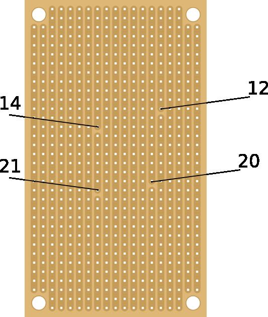 stripboard cuts